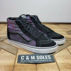 Vans SK8-Hi Galaxy Suede Skateboarding Purple Space HI Top
